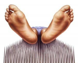 Bed of nails - Natural response mattress San Diego